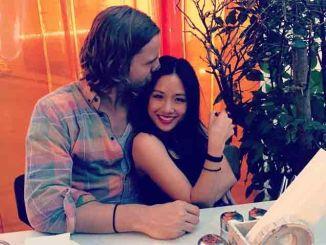 Constance Wu doing romance with White Boyfriend