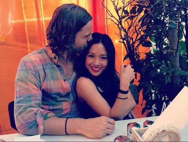 Constance Wu doing romance with White Boyfriend