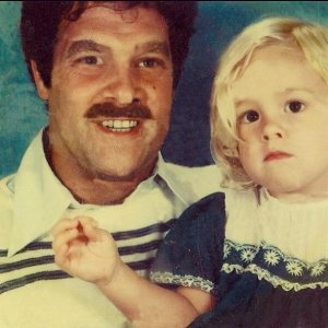 Heather Storm with her father, Dan Trotta