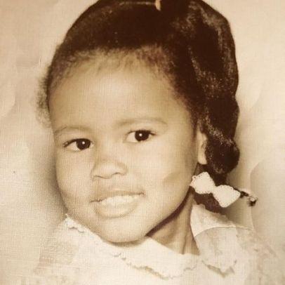 Lela Rochon in her childhood