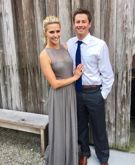 Katie Osborne with her boyfriend