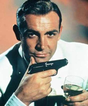 Sean Connery in his early age