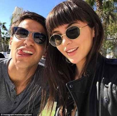 Maddison Jaizani with Luke Pasqualino