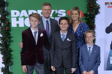 Will Ferrell and his family attend 'Daddy's Home 2' premiere