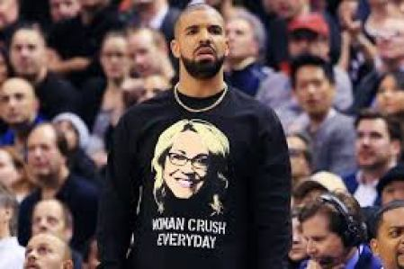 The famous American rapper, Drake