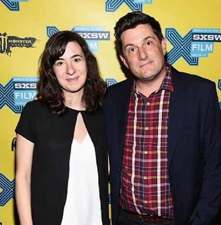 Michael Showalter and his wife photo