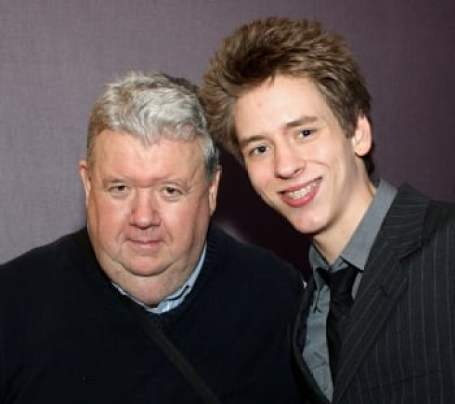 Ian McNeice with his son, Travers McNeice