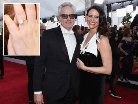 Amy Landecker & Bradley Whitford's engagement