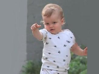 Photo of Jason Statham and Rosie Huntington-Whiteley child Jack Oscar Statham