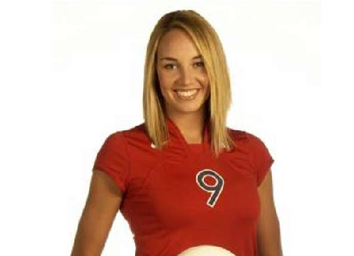 Former volleyball player Bre Ladd image