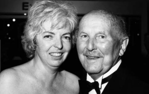 Thelma Schoonmaker and her late spouse Michael Powell