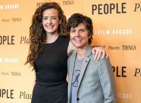 From Left Stephanie Allynne and her partner Tig Notaro photo