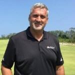 Former golf player Frank Nobilo