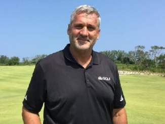 Former golf player Frank Nobilo