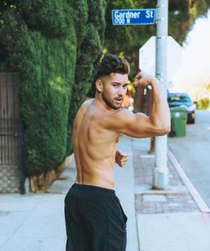 Jeff Wittek muscular body