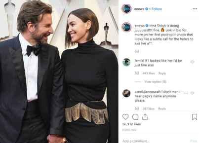 Irina Shayka and Bradley Cooper