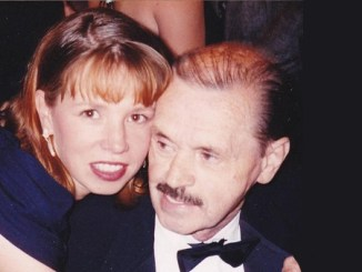 Tracey Wahlberg and her father