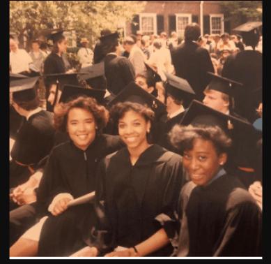 Karen Brailsford at the day of her graduation