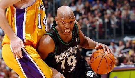 Sam Cassell during his NBA game