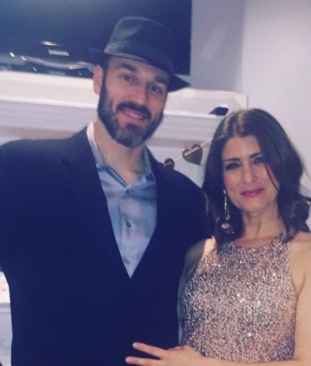 Vanessa Murdock with her spouse