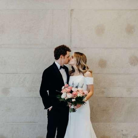 Jonathan Malen and Lauren Collins' Wedding Ceremony.