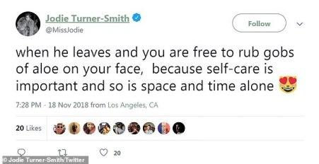 Jodie Turner-Smith tweet