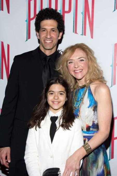 Rachel Bay Jones and Benim Foster with their child, Miranda.