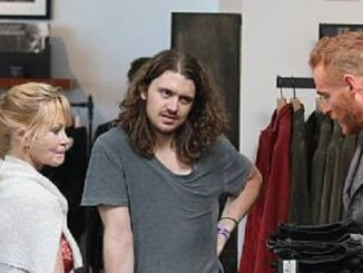 Melanie Griffith and Alexander Bauer Caught shopping