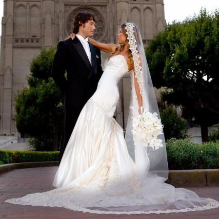 Alec Mazo and Edyta Sliwinska's wedding ceremony.