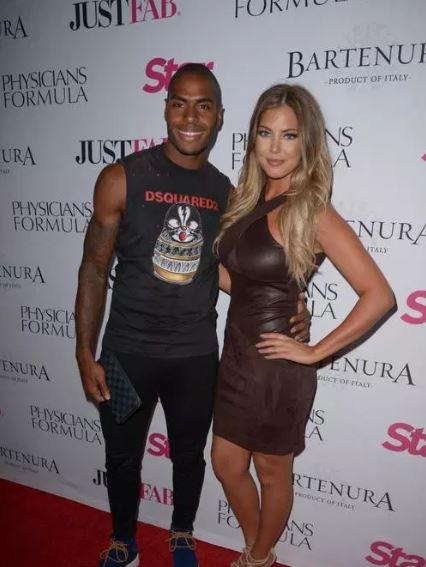 Sophia Pierson with her ex-boyfriend, Denzel Slager.