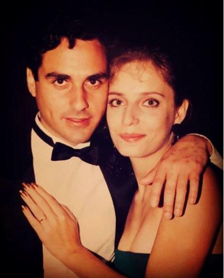 Maurice Benard with his wife, Paula Smith.