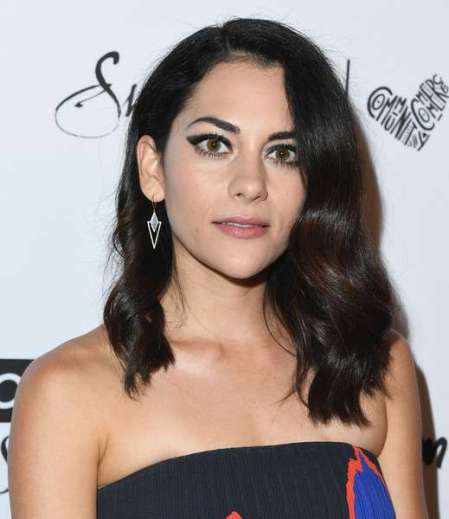 Inbar Lavi arrived at Marie Claire's 5th Annual Fresh Faces.