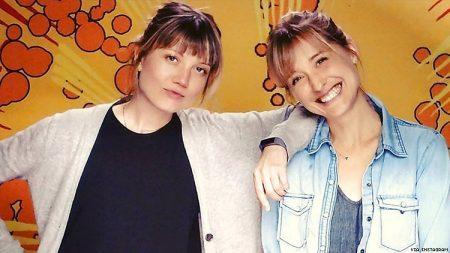 Nicki Clyne and her partner Allison Christin Mack