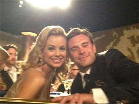 Jessica Collins with her ex-husband, Robert Tyler.