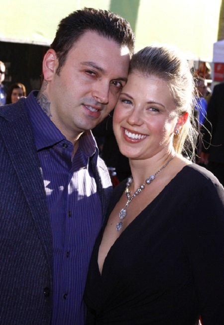Shaun Holguin and his former wife Jodie Sweetin