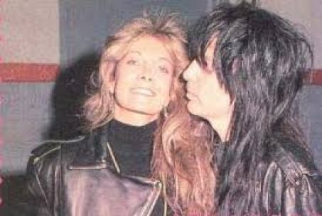 Mick Mars and his first wife Emi Canyn