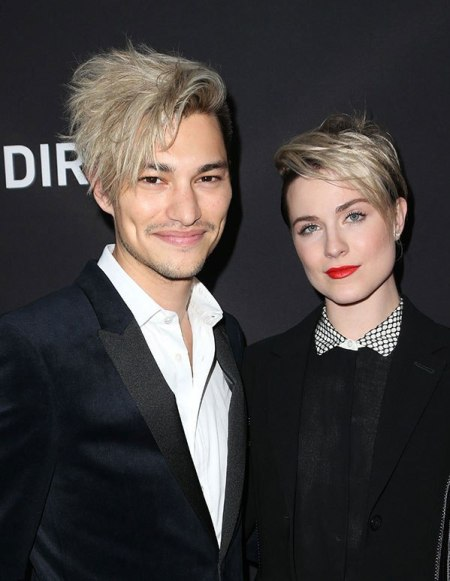 Zach with his former girlfriend Evan Rachel Wood