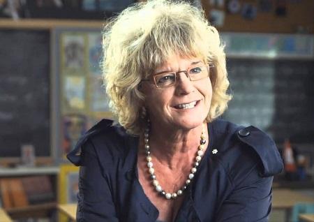 Television producer Linda Schuyler