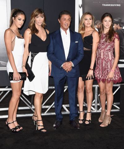 Stallone family photo