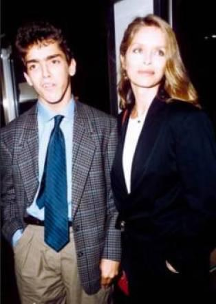 Gianni with his mom Barabra in his teenage