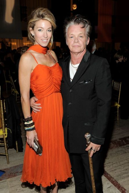 John Mellencamp with Ex-wife Elaine Irwin,
