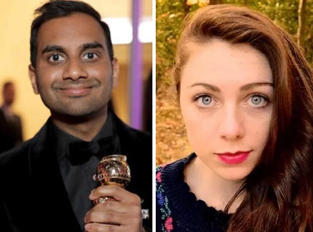 Abby and Aziz Ansari