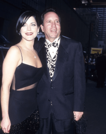 Lesli with her ex-husband, Mark Sterling