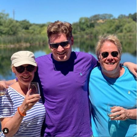 Liz Callaway with her husband, Dan Foster and their son, Nicholas Foster enjoying their vacation.