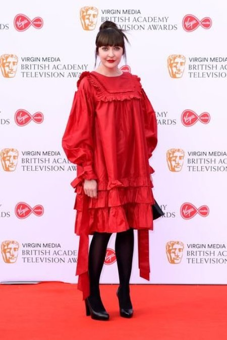 Kathy Kiera Clarke arrived at the Virgin Media British Academy Television Awards 2019 at The Royal Festival Hall in London, England on 12th May 2019.