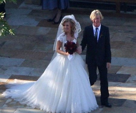 Kenny Wayne Shepherd and Hannah Gibson's wedding ceremony.
