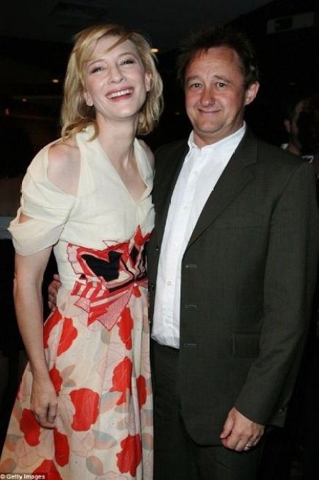 Cate Blanchett with her husband, Andrew Upton.