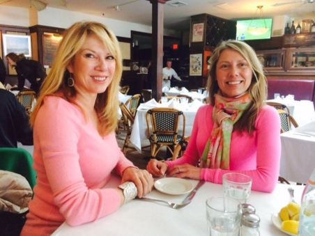 Sonya Mazur spending quality time with her sister, Ramona Singer.