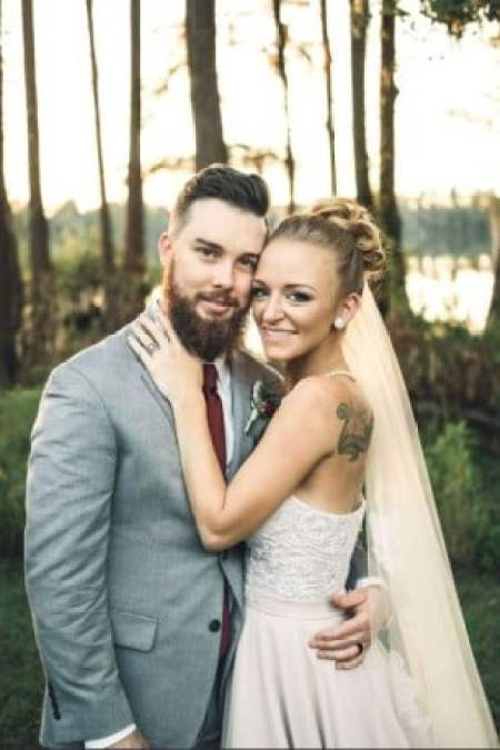 Bentley Cadence Edwards' mother, Maci Bookout and his stepfather, Taylor McKinney's wedding ceremony.