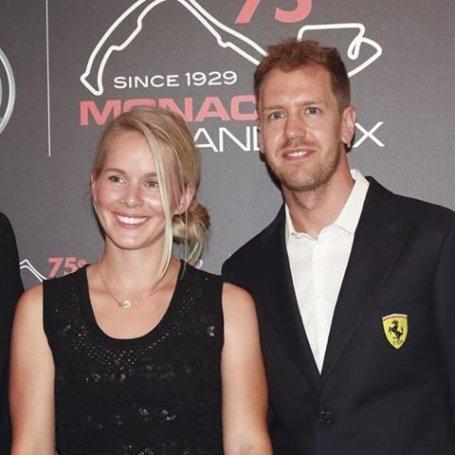 Sebastian Vettel Wife Hanna Prater Marital Status; Their Children & Family